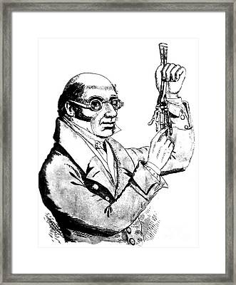Robert Knox, Scottish Anatomist Framed Print by Science Source
