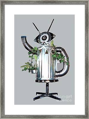 Robocan Framed Print by Bill Thomson