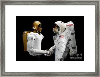 Robonaut 2, A Dexterous, Humanoid Framed Print by Stocktrek Images
