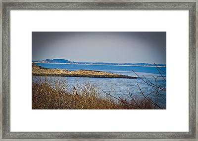 Rockport Park Framed Print by Erica McLellan