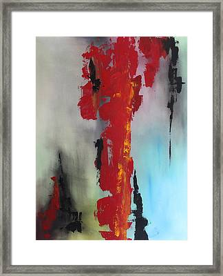 Rojo Framed Print