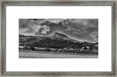Roseberry Topping Framed Print by Trevor Kersley