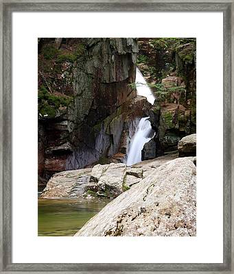 Sabbaday Falls Framed Print by David Gilman