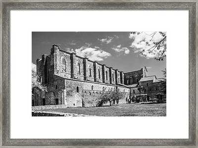 San Galgano Abbey Framed Print by Ralf Kaiser