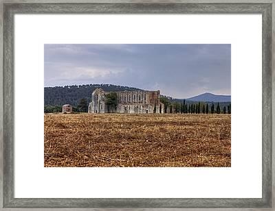 San Galgano Framed Print