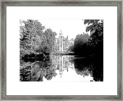 Schloss Loppem Loppem Belgium Framed Print by Joseph Hendrix