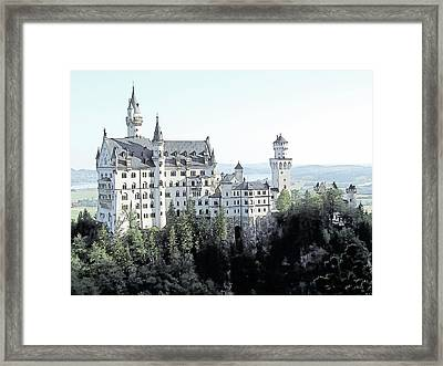 Schloss Neuschwanstein Germany Framed Print by Joseph Hendrix