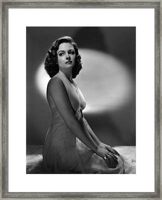 See Here, Private Hargrove, Donna Reed Framed Print by Everett