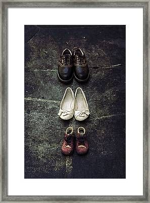 Shoes Framed Print by Joana Kruse