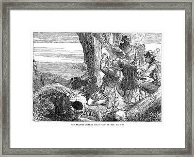 Sir Francis Drake (1540-1596) Framed Print by Granger