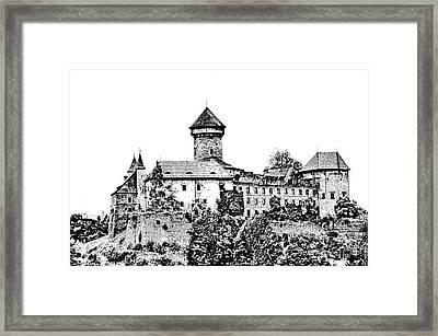 Sovinec - Castle Of The Holy Order Framed Print