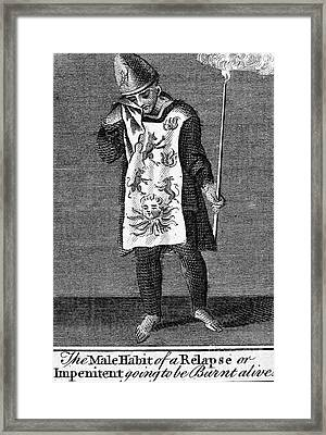 Spanish Inquisition Framed Print