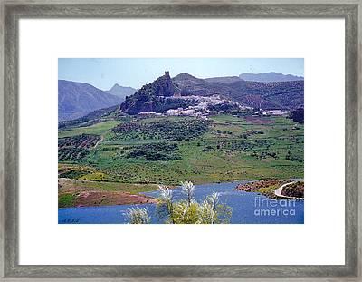 Spectacular Spanish Scene Framed Print