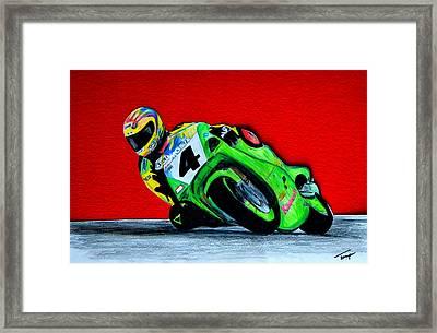 Speed Demon...... Framed Print by Tanya Tanski