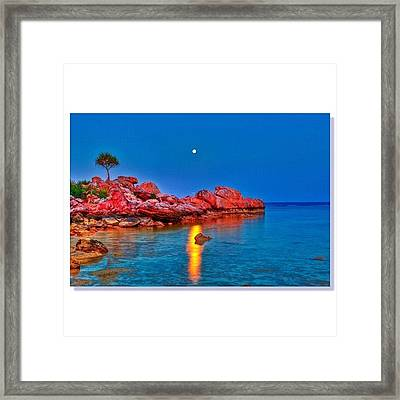 #squaready #sky_perfection Framed Print