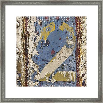 2 Squared 2 Framed Print by Carol Leigh