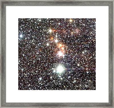 Star Forming Region Framed Print by 2MASS project / NASA