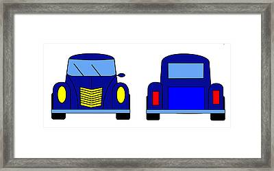 Student Delight -  Virtual Car Framed Print by Asbjorn Lonvig