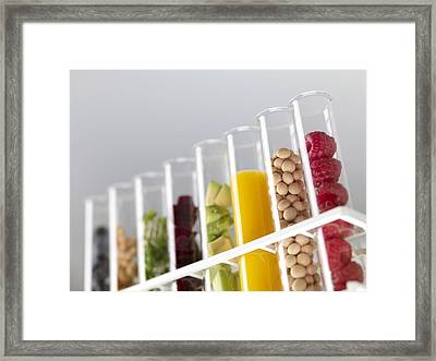 Superfoods Framed Print by Tek Image