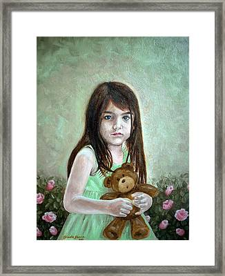 Suri Framed Print by Gizelle Perez