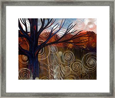 Sweet Release-distorted Framed Print