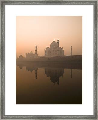 Taj Mahal, Agra, India Framed Print by Keith Levit