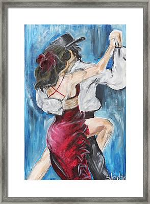 Tango Framed Print by Sladjana Lazarevic