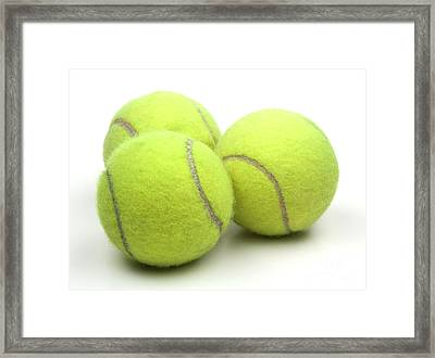 Tennis Balls Framed Print