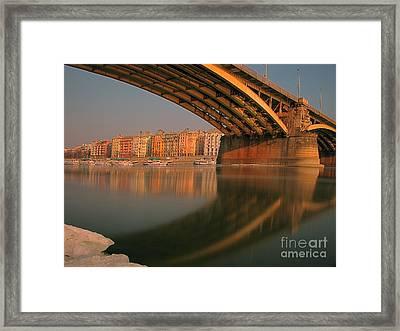 The Bridge Framed Print