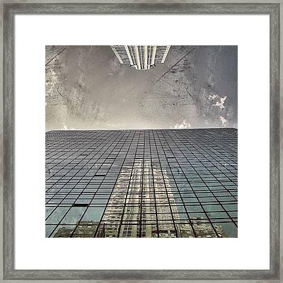 The Chrysler - New York Framed Print