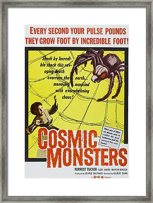 The Cosmic Monster, Aka Cosmic Framed Print