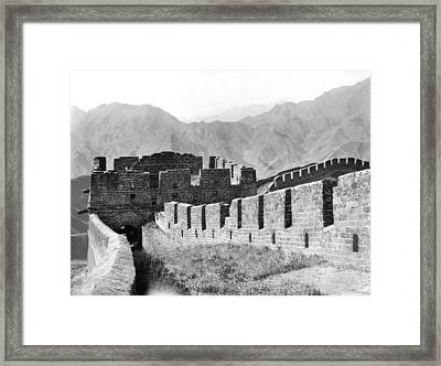 The Great Wall Of China Framed Print by Granger