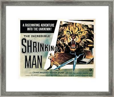 The Incredible Shrinking Man, 1957 Framed Print by Everett