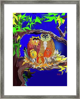 The Nest Framed Print by AnDe Herbert