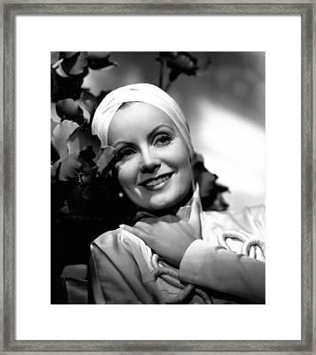 The Painted Veil, Greta Garbo, Portrait Framed Print