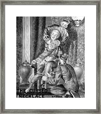 The Perils Of Pauline Framed Print