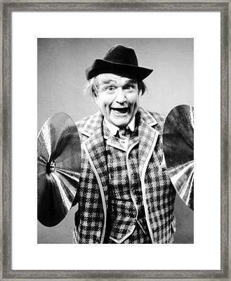 The Red Skelton Show, Red Skelton Framed Print
