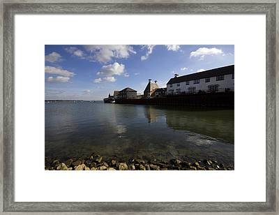 The Stour Estuary Manningtree Essex Framed Print by Darren Burroughs