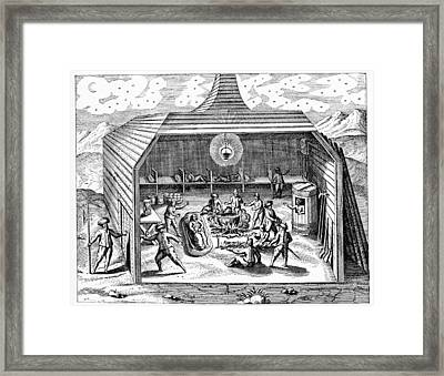 Third Barents Arctic Expedition, 1596 Framed Print