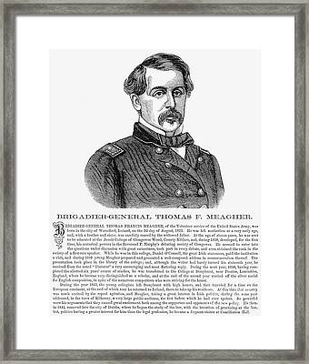 Thomas Francis Meagher Framed Print by Granger