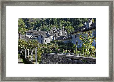 Ticino Framed Print by Joana Kruse