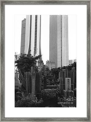 Tokyo Framed Print by Bernard Wolff