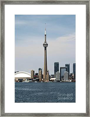 Toronto Skyline Framed Print by Blink Images