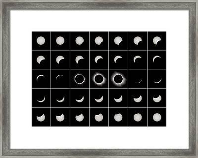 Total Solar Eclipse, 29/03/2006 Framed Print by Eckhard Slawik