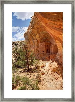 Tower Anasazi Indian Ruins - Utah Framed Print