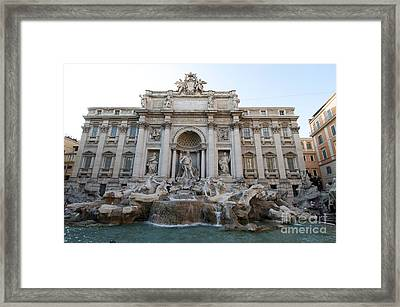 Trevi Fountain. Rome Framed Print by Bernard Jaubert