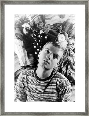 Truman Capote (1924-1984) Framed Print by Granger