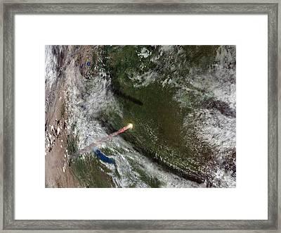 Tunguska Event Framed Print by Joe Tucciarone