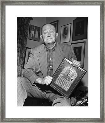 Ty Cobb (1886-1961) Framed Print by Granger