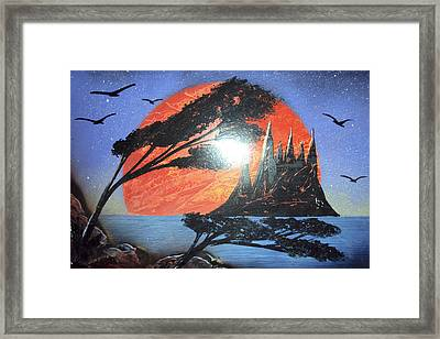 Untitled Framed Print by Artista Elisabet